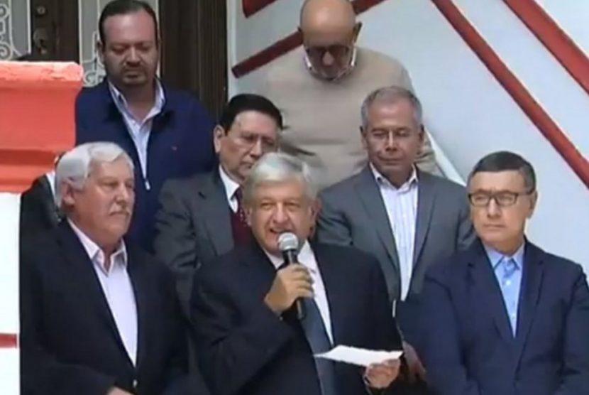 López Obrador anuncia creación del Segalmex, sustituirá a Liconsa y Diconsa