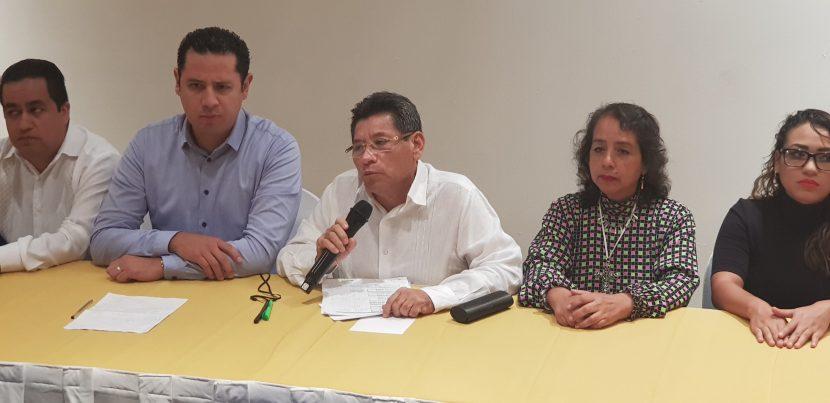 Reaparece Raymundo Carmona en conferencia de prensa del PRD.