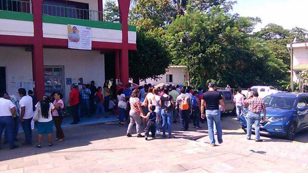 Impedirá Sección 22 instalación de nuevo módulo de educación secundaria en Chiltepec