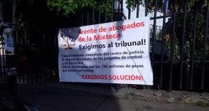 Abogados de la Mixteca piden regreso de los Juicios Orales