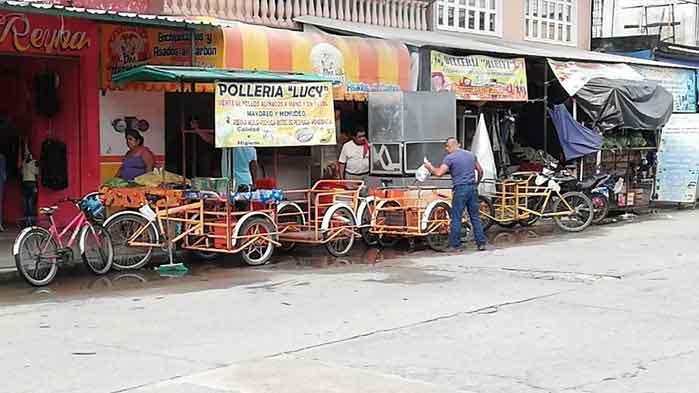 Ante falta de un mercado va en aumento el comercio informal en Valle Nacional