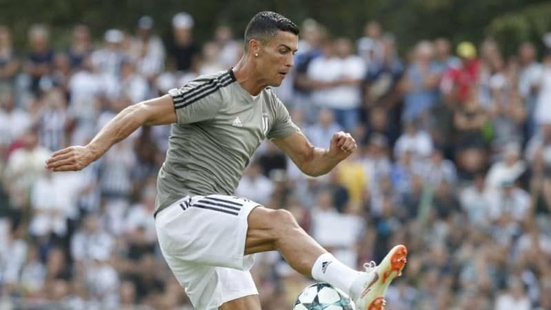 Cristiano Ronaldo se estrena como goleador de la Juventus