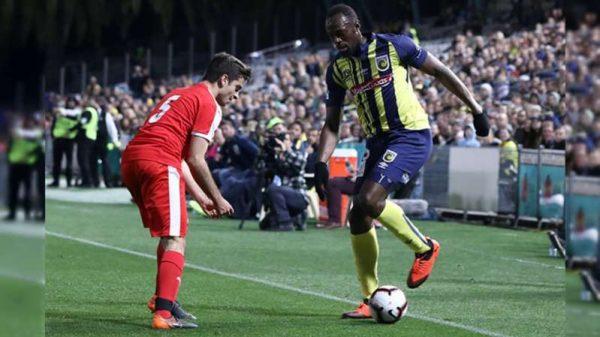 Usain Bolt debutó como futbolista profesional con los Mariners