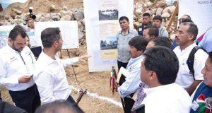 Supervisa Alejandro Murat construcción del nuevo hospital de Ixtlán