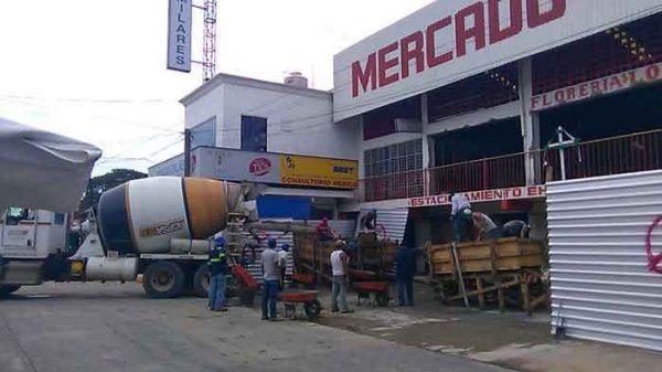 Locatarios del mercado central sin recibir tarimas que ofreció ayuntamiento de Tuxtepec