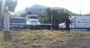 Muere individuo al caerle la tapa de un volteo en Oaxaca