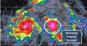 """Oaxaca en alerta verde por Tormenta Tropical """"Ileana"""""""