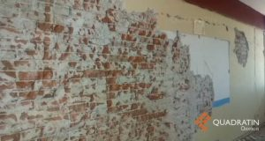 Reportan padres daños en escuela de Oaxaca a casi un año del sismo