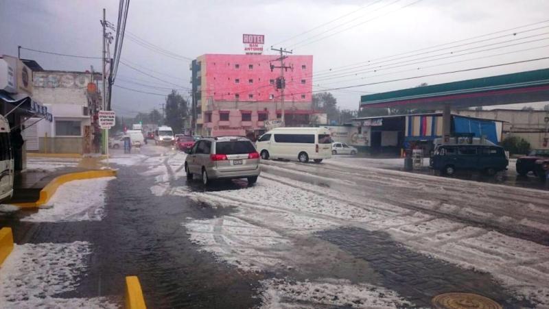 Alerta CEPCO sobre posible evento de mar de fondo y granizada en Oaxaca