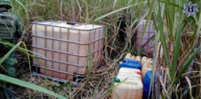 Decomisan hidrocarburo en Papaloapan