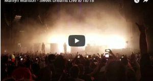 Marilyn Manson se desmaya en pleno concierto (VIDEO)