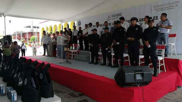 Asegura Director de la policía que se requieren más de 200 elementos, para un servicio óptimo en Tuxtepec