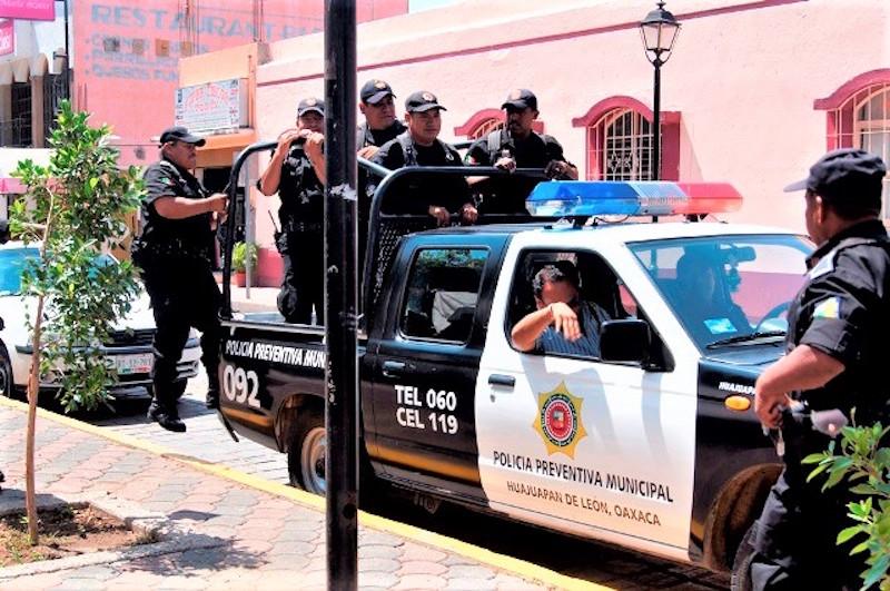 Han sido obligados a callar sus necesidades, policías municipales de Huajuapan