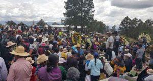 Sepultaron a las 6 víctimas de emboscada en la Mixteca