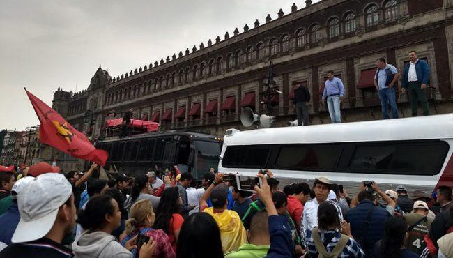 CNTE advierte que no admite condiciones para tirar la reforma
