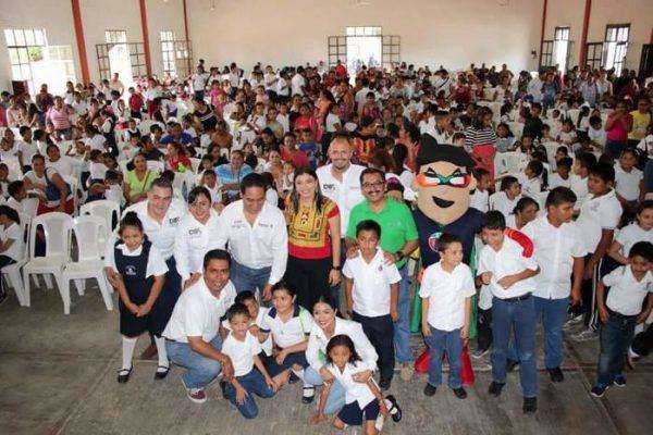DIF Estatal Oaxaca realiza gira de trabajo por la región del Istmo de Tehuantepec