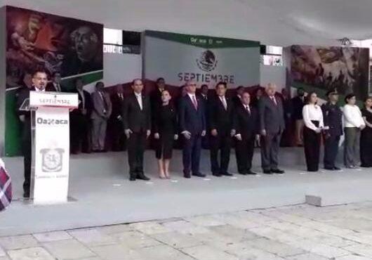 Conmemoran en Oaxaca el Inicio del Movimiento de Independencia de México