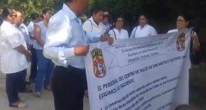 Desaparece recurso para construcción del centro de Salud de San Bartolo,  eran 14 mdp