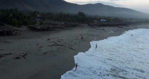 Alerta por mar de fondo en Oaxaca se mantiene ante incremento de oleaje