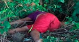 Dejan cadáver tirado en carretera del Istmo