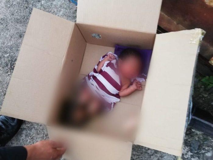 Abandonan un bebé en una azotea