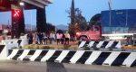 Toman normalistas de Huajuapan caseta de peaje en Oaxaca