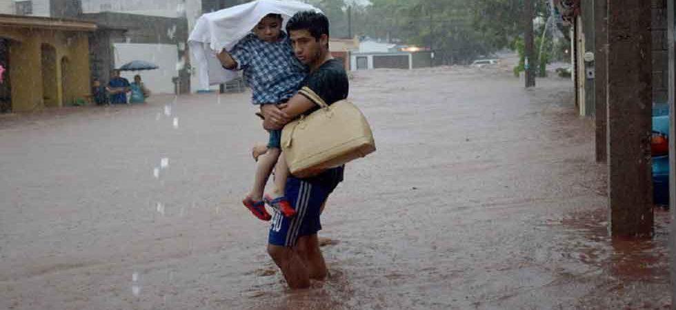 En un día llovió lo de casi un año en Sinaloa