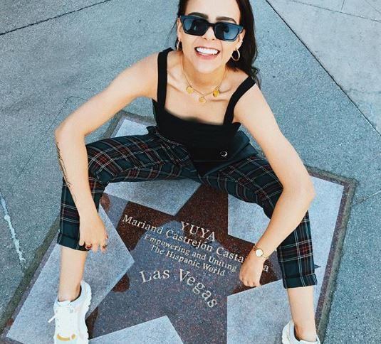 Yuya presumen su estrella en Las Vegas