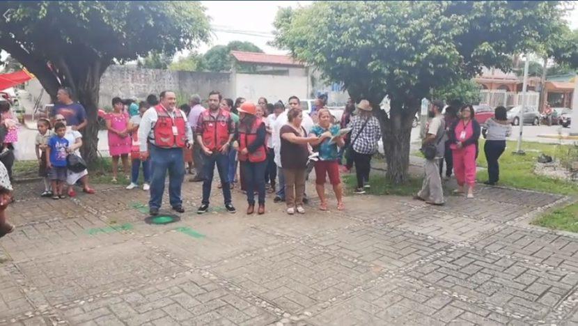 Con simulacro, ISSSTE conmemora tragedia del sismo