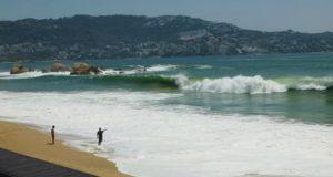 Tormenta Tropical Rosa provoca en Oaxaca Mar de Fondo: Cepco