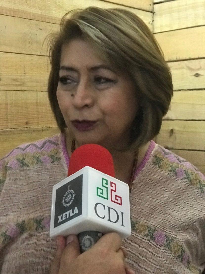 Reconoce delegada de CDI a locutores indígenas en su día