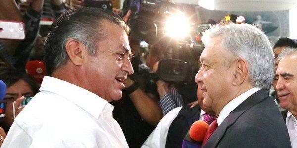 AMLO y 'El Bronco' se reúnen en Monterrey