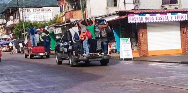 Se deslinda líder de COPOC, de actos delictivos realizados en Valle Nacional