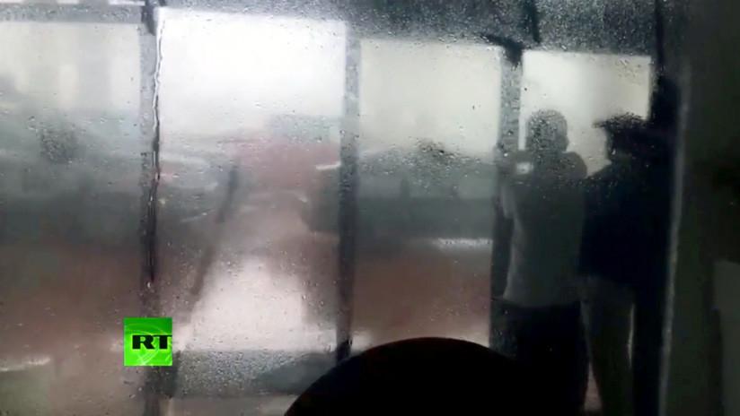 Huracán Michael toca tierra en Florida con vientos de 250 km/h