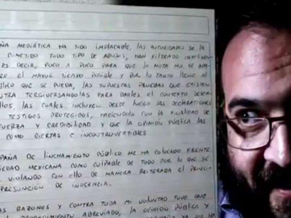 'Todo ha sido un show': Javier Duarte