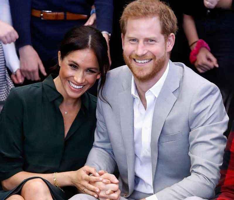 Meghan Markle y el príncipe Harry esperan su primer bebé