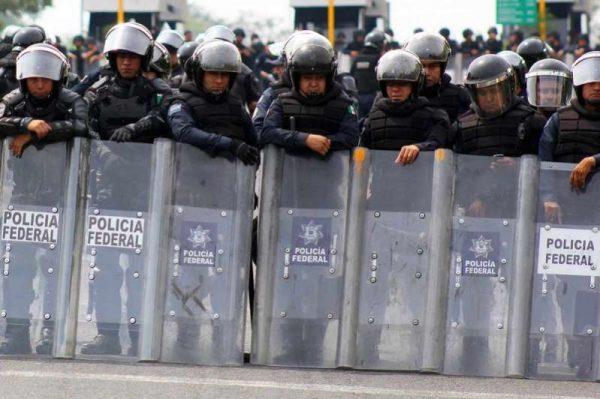 México refuerza seguridad en frontera sur