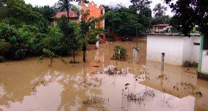 Quince comunidades afectadas en Jacatepec por lluvias reporta la autoridad municipal