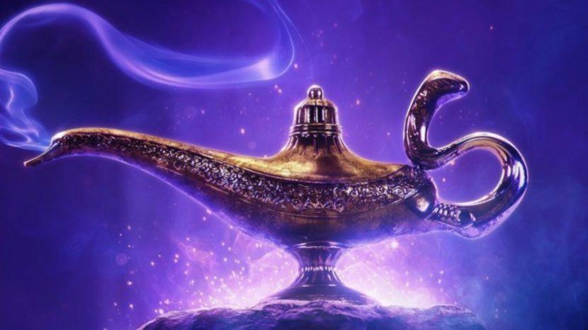 """Sale a la luz, primer póster del live-action de """"Aladdin"""""""