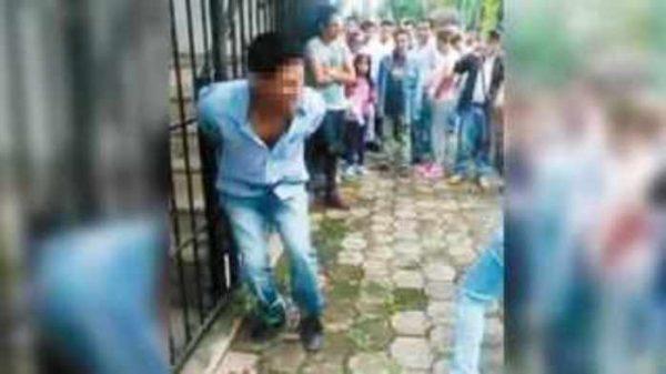 Rescatan a pareja de ser linchada por turba en Texcoco