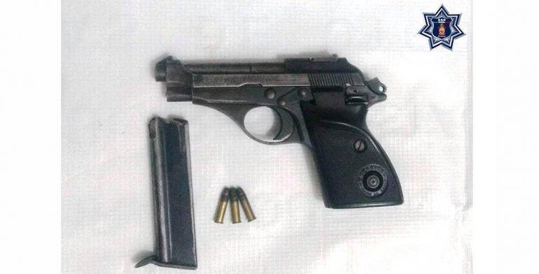 Detienen a individuo que portaba arma sin licencia en la Costa