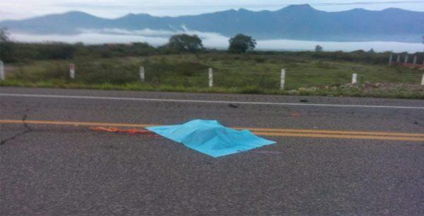 Muere persona atropellada en la carretera 190
