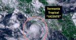 Se forma tormenta tropical Vicente al sur de Chiapas