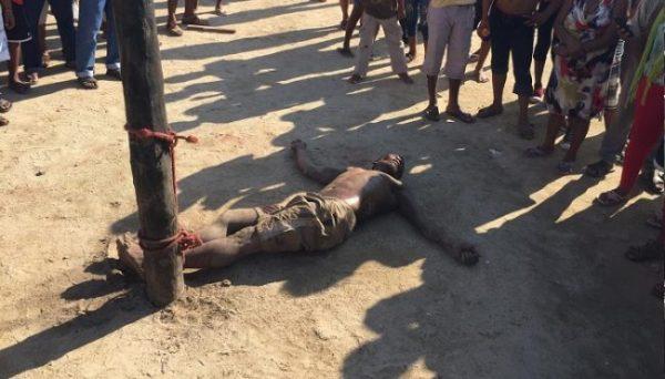 Linchan a un sujeto acusado de violación en la Costa oaxaqueña