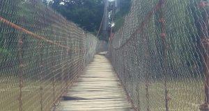 Gobierno de Dávila se comprometió a terminar el puente en diciembre: Agente