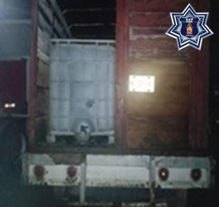 Asegurados 3 mil 200 litros de hidrocarburo y una toma clandestina en el Istmo