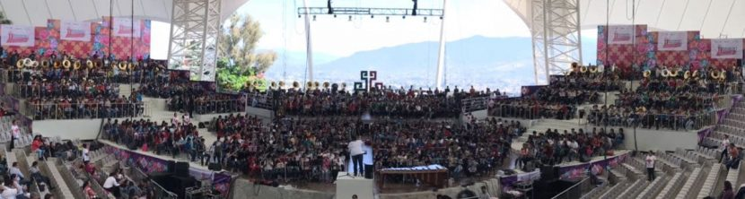 Ensayan más de mil 300 músicos para el 11vo. concierto monumental de bandas