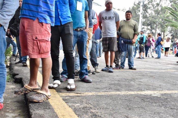 Hombres armados nos 'levantaron' en Tierra Blanca: migrantes
