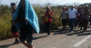 Tercera caravana migrante llega a Oaxaca