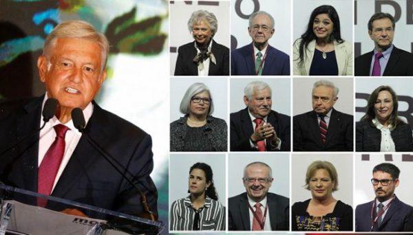 Edades entre 31 y 82 años Egresados de la UNAM predominan en nuevo gabinete